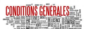 CONDITIONS GÉNÉRALES D'UTILISATION