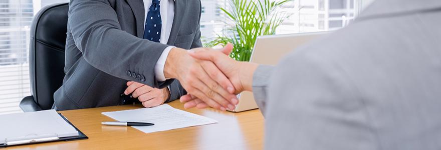un contrat de travail